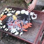 横山精肉 - 料理写真:BBQの始まり