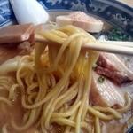 麺屋 創介 - 海老SOBA正油・太麺アップ