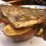 楽 - ツボ鯛と安納芋のグリル アンチョビバター添え