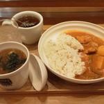16797401 - カレーとスープのセット