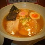 どさん粉 麺や 凡 - 正油ラーメンセット 700円の正油ラーメン 【 2013年1月 】