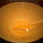 どさん粉 麺や 凡 - 正油ラーメンセット 700円の正油ラーメン 美味しく完食 【 2013年1月 】