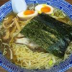 大勝軒 - 煮干しラーメン・トッピング半熟たまご(合計700円)