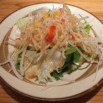 カフェトランドゥ - ランチのサラダ