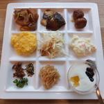 アーバイン広島セントラル - 朝食バイキング