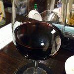 16804129 - 赤グラスワイン