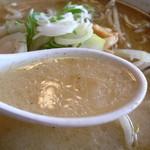 天馬軒 - スープはこんな感じ