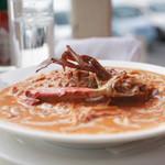 レストランDon - ワタリガニのトマトクリームパスタ
