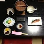 山喜旅館 - 最後の朝食