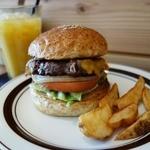 MAD BURGER - ベーコンエッグチーズバーガー(1,450円)@CAFE EASY LAND