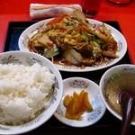 中華料理 太閤 - 野菜炒め定食750円