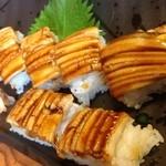 16808708 - 蒸し穴子棒寿司2400円