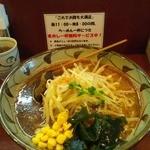 味噌一 - 味噌一ラーメン720円+もやし100円