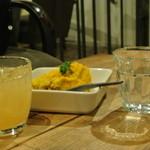 インソムニア - 料理写真:サツマイモとカボチャのサラダ