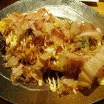 カフェトランドゥ - お好み焼きオムライス 880円