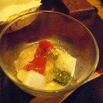 はん亭 - 夏野菜の酢味噌和え