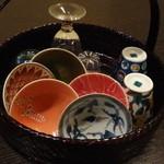 16814487 - 日本酒用のお猪口、選び放題