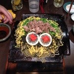 蒲田物語 - 蒲田物語名物 瓦そば! 東京でこれが食えるなんて(>_<)