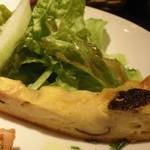 Storia - 前菜盛り合わせ;サラダとキッシュ