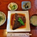 八竹 - 料理写真:子持ち鰈の煮付け定食