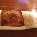 オールドホームプレイス - 黒糖アップルパイ♪( ´▽`)  デザートはモーンスーンドーナッツさんの手作り品♪