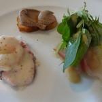 トラットリア・クオーレ - ランチCコース:前菜盛合せ