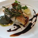 トラットリア・クオーレ - ランチCコース:本日の鮮魚(真鯛)のソテー