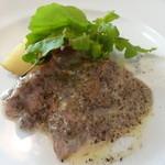 トラットリア・クオーレ - ランチCコース:埼玉県産の香り豚のソテー