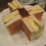 16819680 - サンドイッチ(タマゴ)¥470@'12.11.下旬