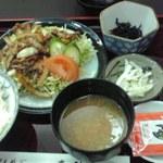 末ひろ - 日替わり(焼肉定食)500円也