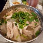 バインセオ サイゴン - 鶏肉入りフォー
