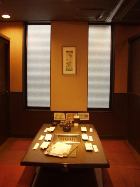 七輪房 川越店 - 個室の座敷です。宴会利用も大歓迎です。