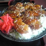 定食屋菜 - 豚丼(大盛り)