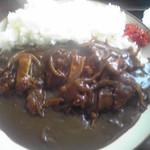 定食屋菜 - カツカレー