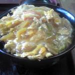 定食屋菜 - カツ丼(大盛り)