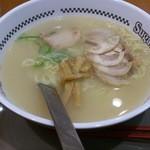 スガキヤ - 「肉入ラーメン」(370円)