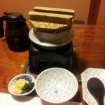 かに道楽 - 13 お昼のカニ会席 「涼風3500円」・カニ釜飯