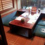 かに道楽 - 30 二階小部屋座敷の一例