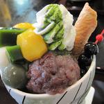 小倉山荘カフェ - 花乙女