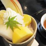 小倉山荘カフェ - 珠しずく