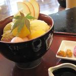小倉山荘カフェ - 月さやか