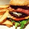 アローズ ダイナー - 料理写真:ベーコンチーズハンバーガー
