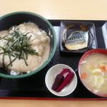 中井食堂 中井パーキングエリア(PA)下り線 - 自然薯とろろごはん定食