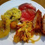 スペイン坂農園 - 取り皿に取った料理