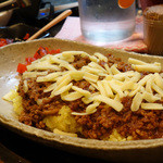 yaman - ミックスキーマ+チーズトッピング