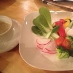 ラビット ピット - 新鮮野菜のバーニャカウダ