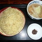 伝丸 - 鶏塩つけ麺(大盛¥0-) ¥680-