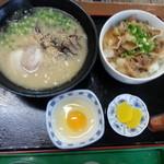 さくら亭 - 2013年1月スタミナ丼セット