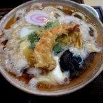 阿づ満庵 - 鍋焼きうどん!(2013,01/14)