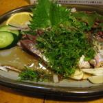 居酒屋大吉 - 清水の鯖のたたき